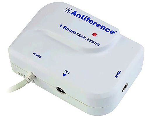 antiference-1-way-tv-signal-amplifier-booster-tuned-to-cut-out-4g-white