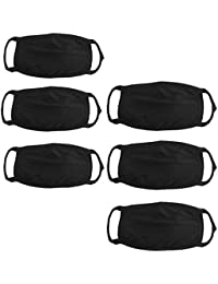 6 Pcs Dust/Anti Pollution Protective Face Mask Mouth & Nose Respirator Outdoor (Pack Of 6 Mask) (Color And Design...