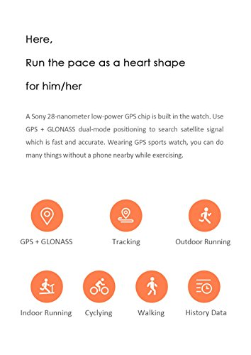 Gshopper Smart Watch AMAZFIT Bip Youth Edition Glonass GPS Heart Rate Sport Fitness Tracker Watch 128 Screen 32g Ultra Light IP68 Waterproof 45day Standby