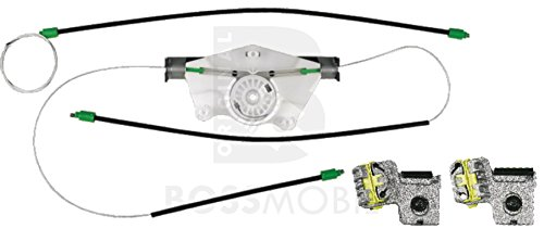 Bossmobil Golf 4 (1J1, 1J5), Delantero izquierdo,2/3 Puertas kit de reparación de elevalunas eléctricos