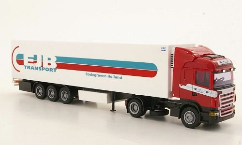 Preisvergleich Produktbild Scania R, EJB (NL), Highl./Aerop-Kühl-KSZ, Modellauto, Fertigmodell, AWM 1:87