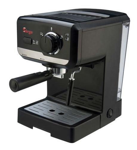 Sirge Macchina per Caffe Espresso e Cappuccino caffe in polvere e Cialde di carta Lussy