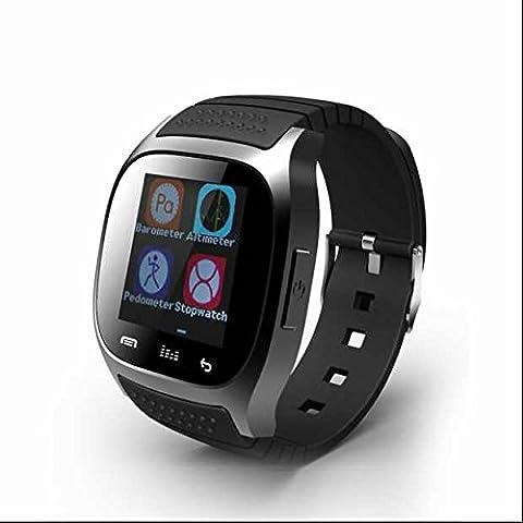 Smart uhr Smart sportuhr handy uhr Smartwatches,Elegant LED,Kalorienzähler,Anrufer Identifikation,HTC Monitor,Aktivitäts Tracker,Schlaf-Monitor,Handy Uhr,mit Musik Player und Schrittzähler für damen/kinder/Herren