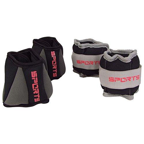 Laufgewichte 4er Set Gewichtsmanschetten Handgewicht Fussgewicht Fitness Hanteln