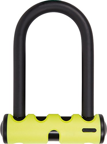 Abus 40/130HB140 U-mini - Candado para bicicletas (143/80/15 mm), color rojo