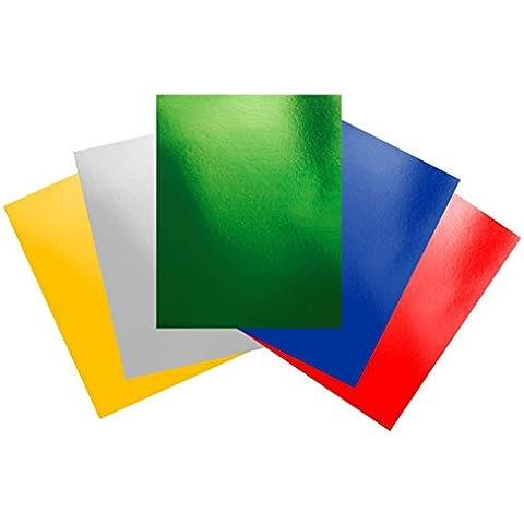 Casa de la tarjeta y Papel A6Tarjeta 240gsm Die–Lámina de varios (Pack de 150hojas)