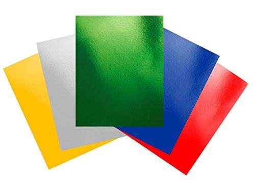 Casa di carta e carta A6die 240g/mq-assortiti Foil (Confezione da 150fogli)