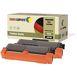 Pack 2 TONER EXPERTE® Compatibles TN2320 Cartouches de Toner pour Brother HL-L2300D HL-L2320D HL-L2340DW HL-L2360DN HL-L2365DW DCP-L2500D DCP-L2520DW DCP-L2540DN MFC-L2700DW MFC-L2720DW MFC-L2740DW