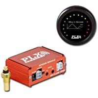 PLX C6AFRG4 Wideband AFR and DM6 Gauge Combinational Kit Black