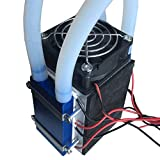 Mouchao Peltier Thermoelectric Refrigerators Radiatore termoelettrico a 4-Chip DIY 12V 576W