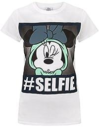 Disney Minnie Mouse Selfie Womens T-Shirt