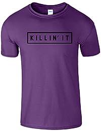 Killin It Mens Killing T-Shirt Débardeur à manches courtes Été