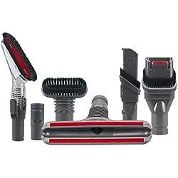 Honfa Dyson Home Nettoyage à outils kit pièces 6packs pour aspirateurs Dyson Accessoires Handheld V6DC16DC31DC33DC34DC35Dc56Dc58DC59Dc61DC62Dc72Animal