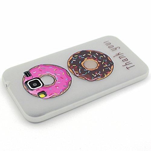 Voguecase® Pour Apple iPhone 6/6S 4.7, Noctilucent TPU Silicone Shell Housse Coque Étui Case Cover (Stripe/ancre)+ Gratuit stylet l'écran aléatoire universelle Donuts 01