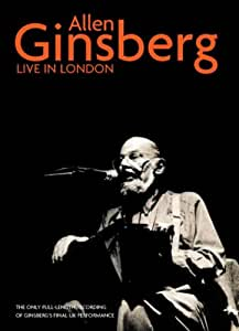 Allen Ginsberg - Live In London [DVD]