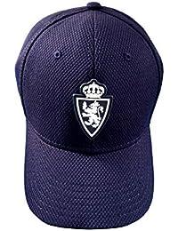 Real Zaragoza Gorzar Gorra, Azul, Talla Única
