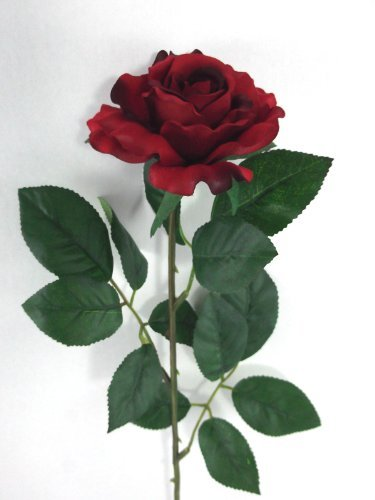 artificial-silk-medium-rose-single-stem-65cm-red-medium