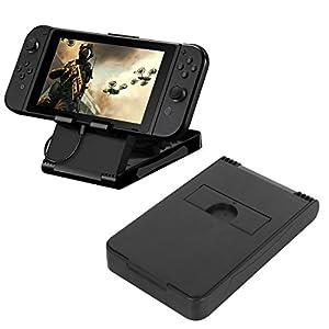 aokur Winkel Faltbar Ständer, Verstellbar Ständer, Dock, Tablet Ständer, Playstand für Nintendo Switch Games