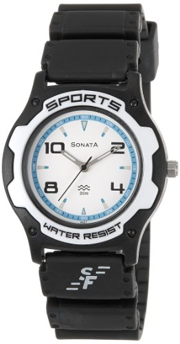 Sonata Analog Blue Dial Men's Watch - NF7921PP11J image