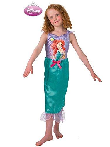 Disfraz sirenita Ariel infantil - Único, 5 a 7 años