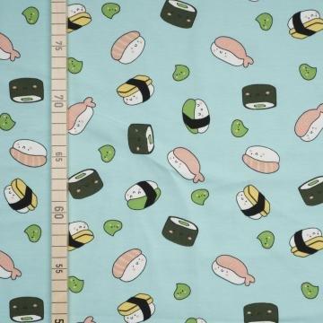 Sushi - Mint - Jersey (Kostüm Sushi Kind)