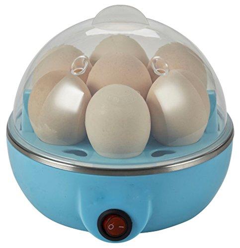 Velkro Egg Cooker Mini Electronic 7 Egg Steamer Boiler Egg Poacher for Home, Restaurant, Hotel