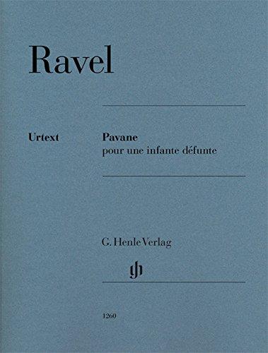 Pavane pour une infante défunte für Klavier zu zwei Händen par Maurice Ravel