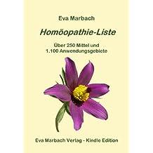 Homöopathie-Liste (German Edition)