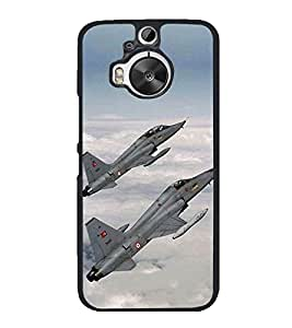 Fighter Jets 2D Hard Polycarbonate Designer Back Case Cover for HTC One M9 Plus :: HTC One M9+ :: HTC One M9+ Supreme Camera