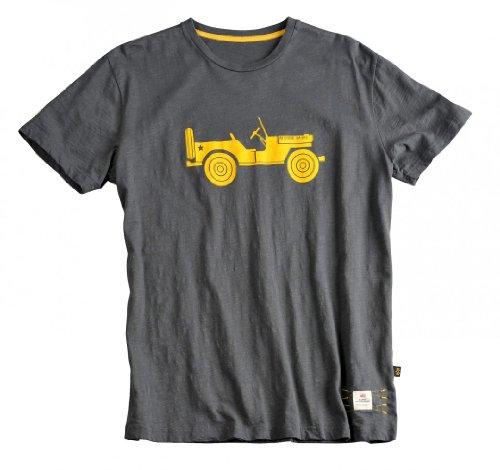 Alpha Industries Herren Basic T-Shirt Grau