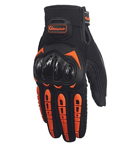 Huike Moto Guantes moto guantes pantalla táctil Sport