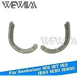 WEWOM Ohrenbügel für In Ear Kopfhörer passend für Senheiser IE6 IE7 IE8 IE60 IE80 IE800 und alle anderen In-Ear Systeme mit einem Kabeldurchmesser bis 2mm