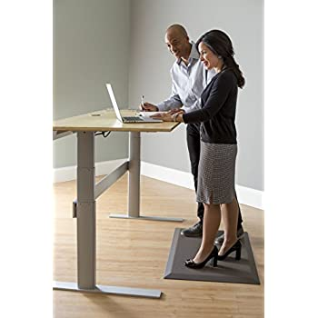 "Imprint® CumulusPRO Mat [Deluxe] - Standing Desk Anti-Fatigue Mat (BROWN). ""Best Rated Standing Desk Mat"" by Forbes and Wirecutter Magazines."