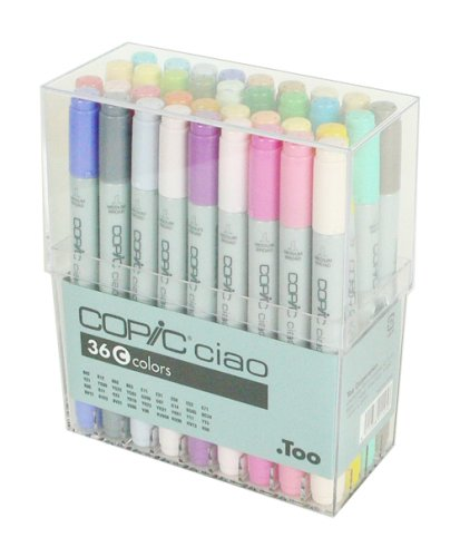 Copic Ciao - Basis Set C - 36er Set