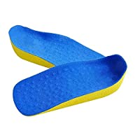 FUGL Sport Shoe Lift Shoe Inserts Comfortable Orthotic Insole Silica Gel Insole Massage Healthcare Healthy 2 Size