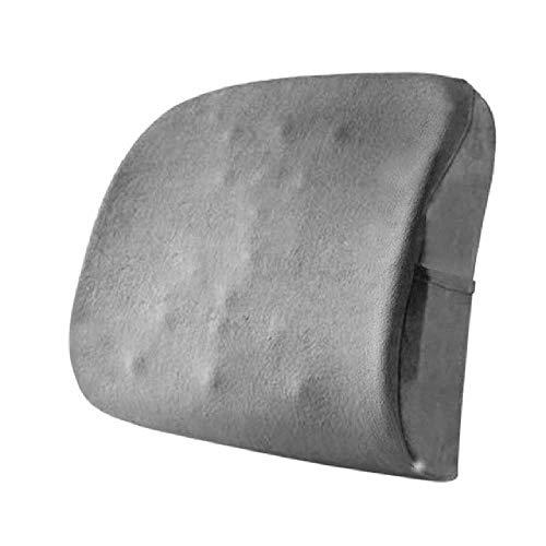 SHUIZAI Cushions Bürostuhl Massage Back Lumbar Support Mesh Ventilate Kissen Polsterung Schwangere Frauen Rücken Waist Pillow Black Big Size Dropshipping EIN
