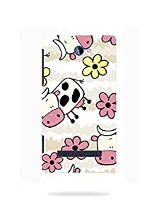 alDivo Premium Quality Printed Mobile Back Cover For HTC 8S / HTC 8S Back Case Cover (KT514)