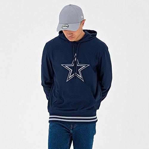Cowboy Herren Sweatshirt (A New Era 11569600Sweatshirt, Unisex Erwachsene L Blau (osb))