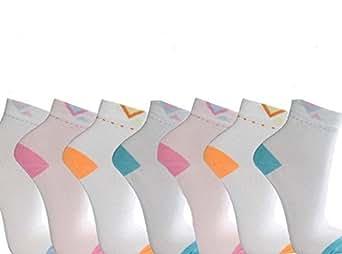 12 Paar Sneakersocken Sportsocken Füßlinge Damen Freizeit Gr. 35 - 42 (39-42)