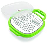 Best Box Graters - 3 in 1 Stainless Steel Food Grater Vegetable Review