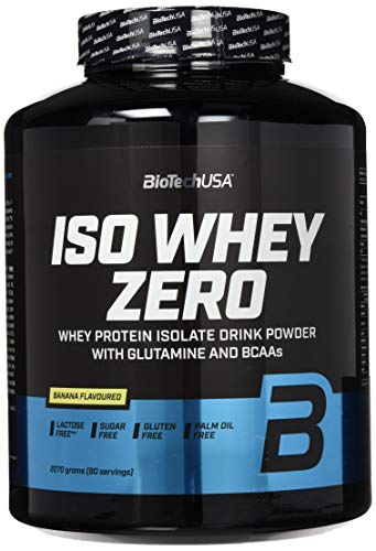 Biotech USA Iso Whey Zero, Banane, (1 x 2.27 kg)