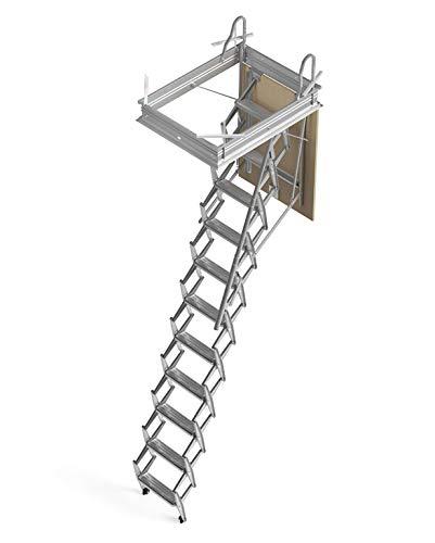 Mister Step Escalera escamoteable para buhardillas ADJ H= 276÷300 cm. (90 x 60 cm.)