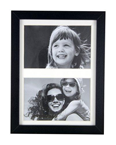 BD ART 17x23 cm Mehrfach Bilderrahmen, Bildergalerie, Fotogalerie mit Passepartout und 2...