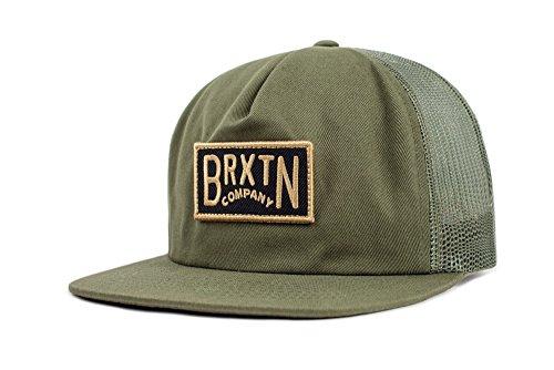Brixton Unisex Headwear Langley Mesh Cap olive