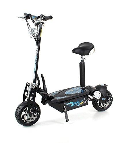 SXT scooters Trottinette lectrique 1600 XXL 1600w Brushless Noire Batterie Plomb 48V 12Ah