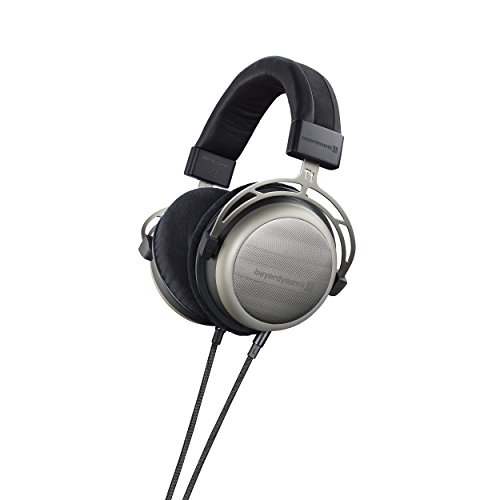 beyerdynamic T 1 (2. Generation) Over-Ear-Stereo Kopfhörer. Halboffene Bauweise, steckbares Kabel, High-End 2. Generation Fällen