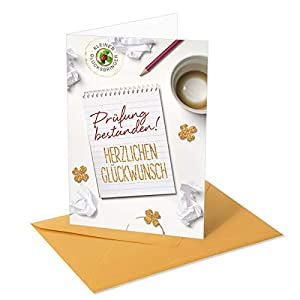 Gold Pieces Greeting Card/Congratulations Card Examination – Passed.