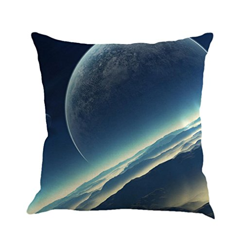 Quadrat Papier Schatten (sunnymi Nacht-Himmel Star Galaxis Sofa Kissenbezug/Kissen Rosa Mehrfarbiges 45x45 Quadrat/Dekorative Kissenbezüge/Sitz Dekorative Stuhl Auto (F, Mehrfarbig))