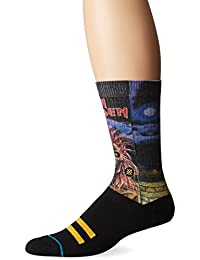 Stance Stranger Things Crew Calcetines Negro (talla 36-12)