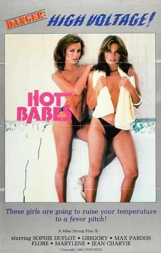 Hot Babe Poster (Hot Babes 1978 Poster 01 A3 Box Canvas Print)